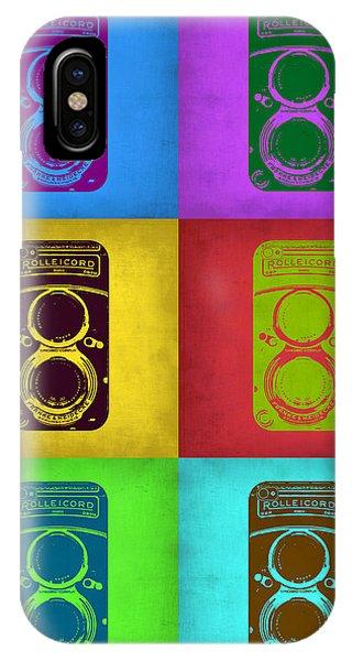 Vintage Camera iPhone Case - Vintage Camera Pop Art 2 by Naxart Studio