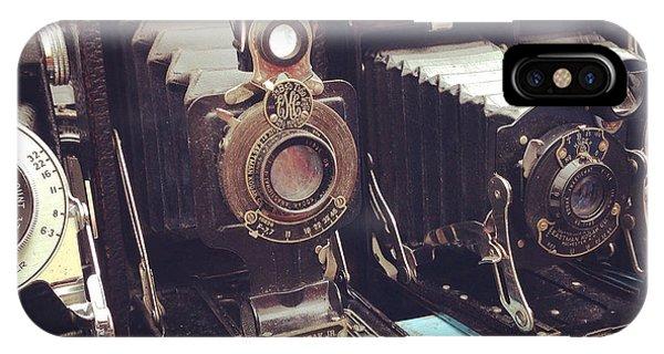 Cameras iPhone Case - Vintage Cameras by Sarah Coppola