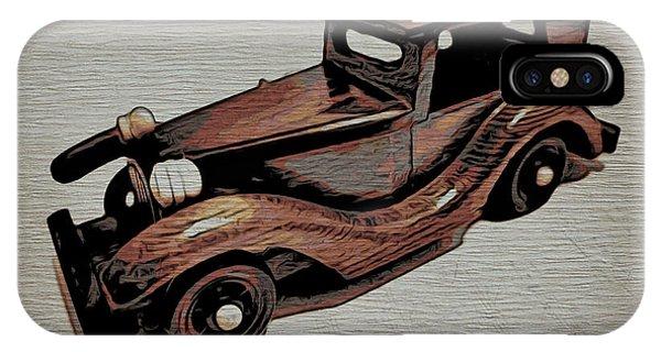 Vintage Car Phone Case by Joel Panida