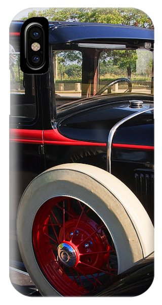 IPhone Case featuring the photograph Vintage Car by Susan Leonard