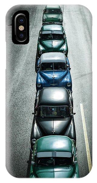 Car iPhone Case - Vintage Cars,havana Fantasy by Svetlin Yosifov