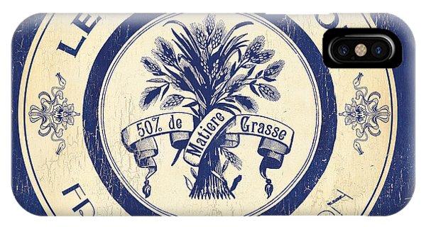 Kitchen iPhone Case - Vintage Cheese Label 6 by Debbie DeWitt