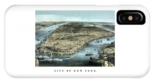 Vintage City Of New York IPhone Case