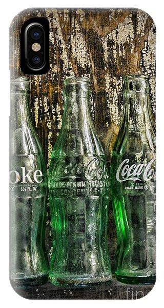 Vintage Coke Bottles IPhone Case