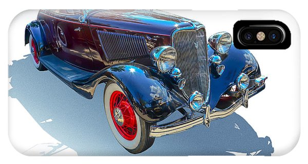 Auto Show iPhone Case - Vintage Convertible by Gianfranco Weiss