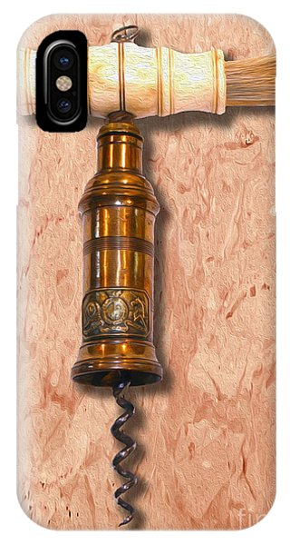 Bar iPhone Case - Thomason Corkscrew Circa 1802 by Jon Neidert