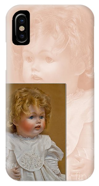Vintage Doll Beauty Art Prints IPhone Case
