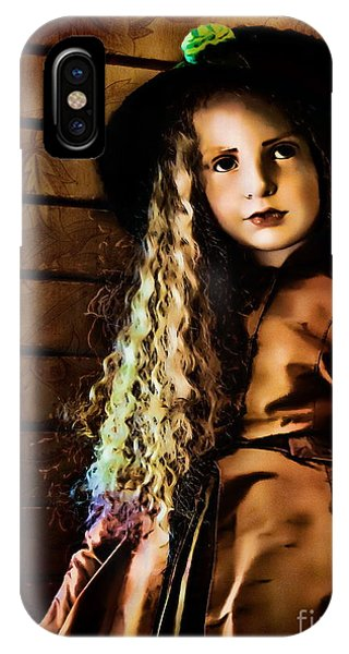 Toy Shop iPhone Case - Vintage Doll by Colleen Kammerer