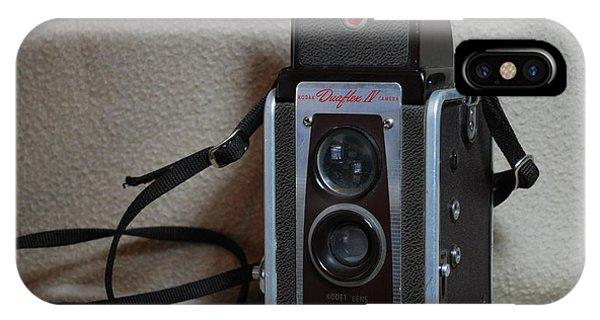 Vintage Duaflex Iv Camera IPhone Case