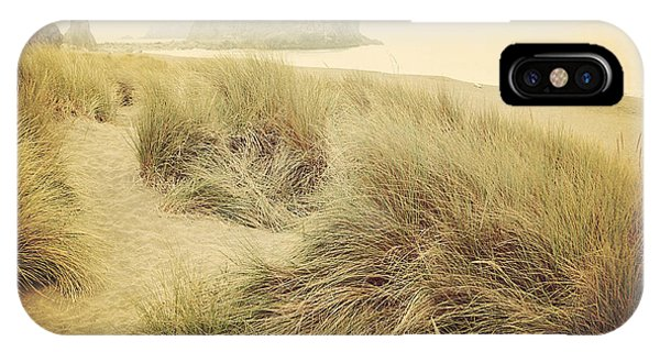 Oregon Sand Dunes iPhone Case - Vintage Dunes by Sylvia Cook