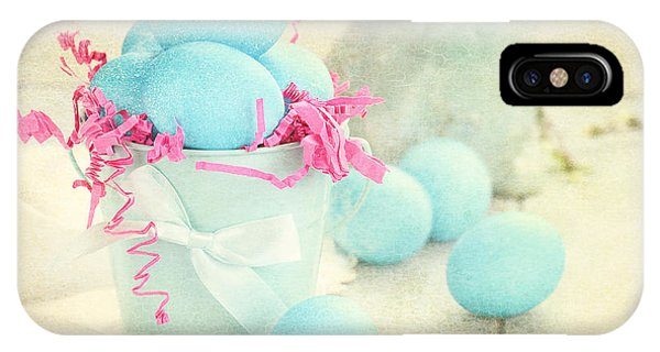 Vintage Easter Eggs IPhone Case