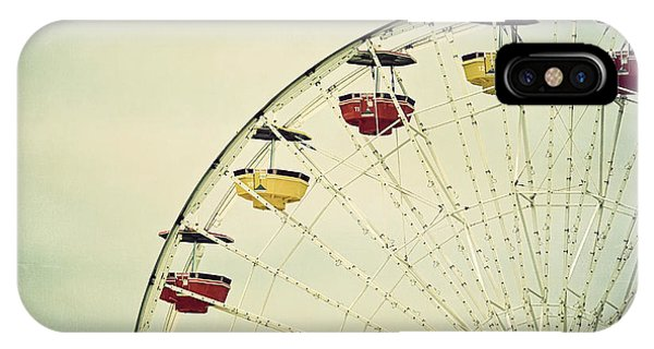 Vintage Ferris Wheel IPhone Case