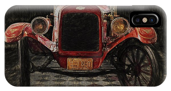 Vintage Fire Truck  ... IPhone Case