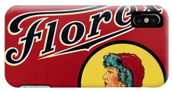 Vintage iPhone Case - Vintage Florida Food Signs 2 - Gypsy Florex Brand - Square by Ian Monk