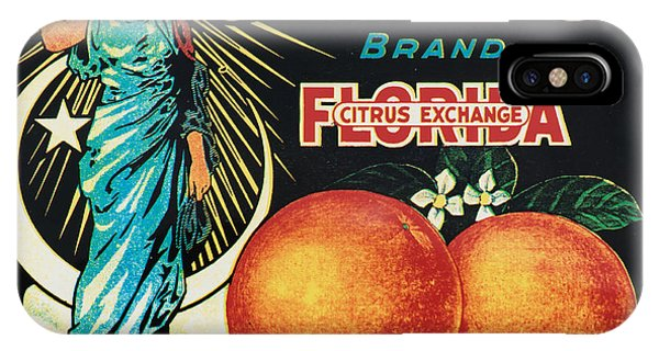 Vintage iPhone Case - Vintage Florida Food Signs 1 - Juno Brand - Square  by Ian Monk