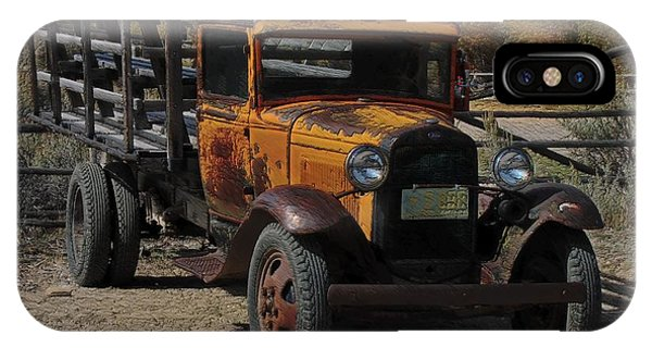 Vintage Ford Truck 2 IPhone Case