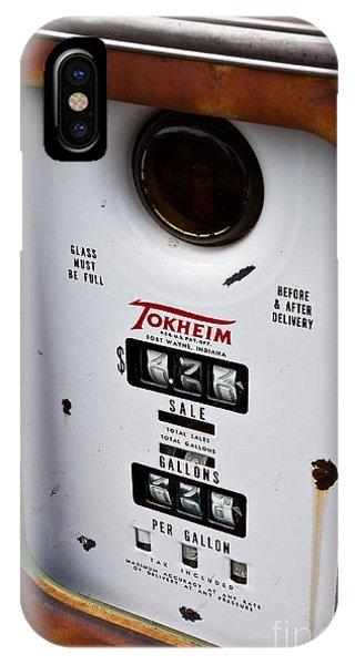 Vintage Fuel Pump IPhone Case