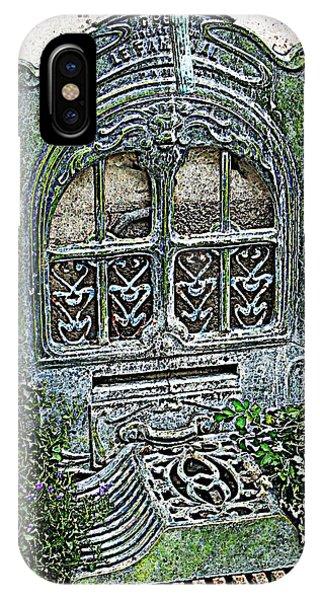 Vintage Garden Grate IPhone Case
