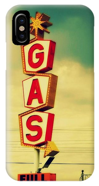Vintage Gas Sign IPhone Case