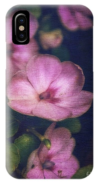Vintage Impatiens IPhone Case