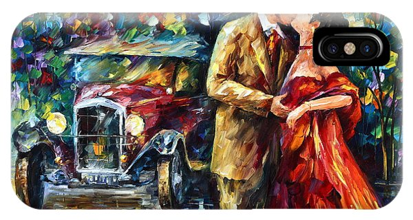 iPhone Case - Vintage Kiss by Leonid Afremov