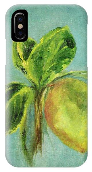 Vintage Lemon I IPhone Case