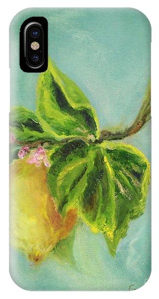 Vintage Lemon II IPhone Case