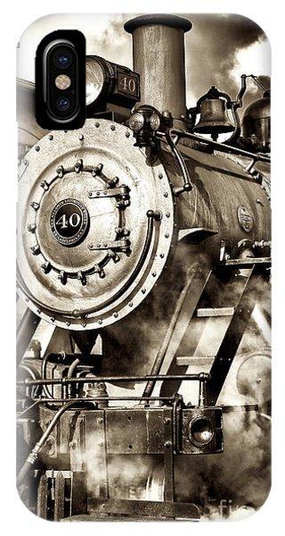 Vintage Locomotive IPhone Case