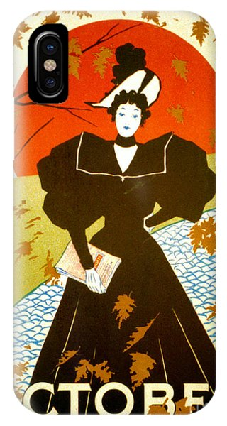 Vintage Magazine Cover 1895 Phone Case by Padre Art