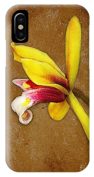 Vintage Orchid IPhone Case