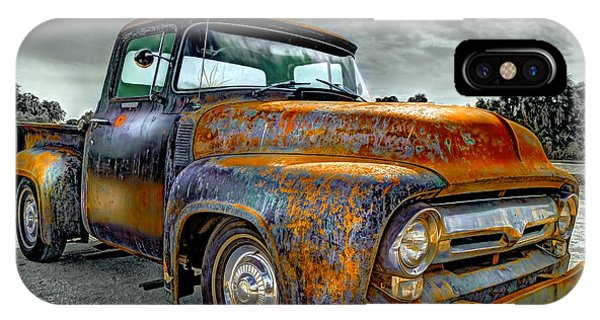Antiquated iPhone Case - Vintage  Pickup Truck by Mal Bray