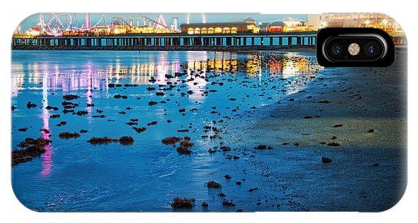Vintage Pleasure Pier - Gulf Coast Galveston Texas IPhone Case