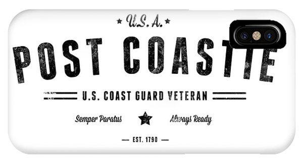 Vintage Post Coastie IPhone Case