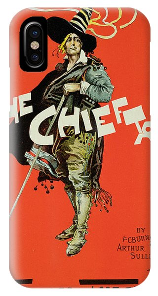 Vintage Poster For The Chieftain At The Savoy IPhone Case