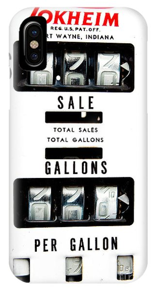 Vintage Pump Panel IPhone Case