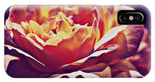 Vintage Rose Phone Case by Judy Palkimas