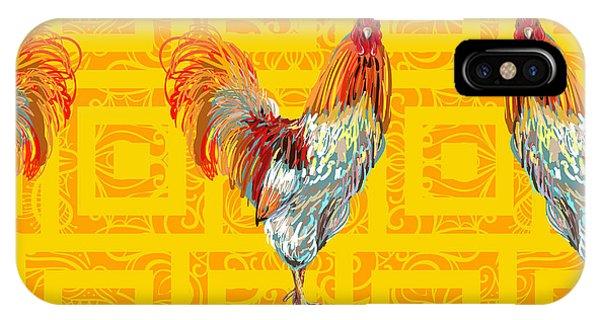 Kitchen iPhone Case - Vintage Seamless Pattern With Farm by Artskvortsova