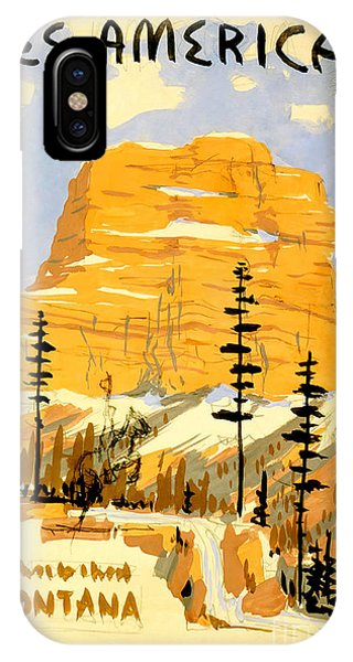 Travel iPhone Case - Vintage See America Travel Poster by Jon Neidert