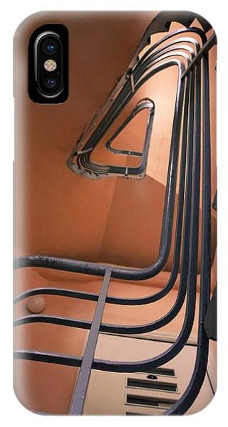 Vintage Spiral Stairs IPhone Case