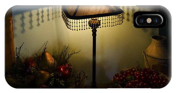 Vintage Still Life And Lamp IPhone Case