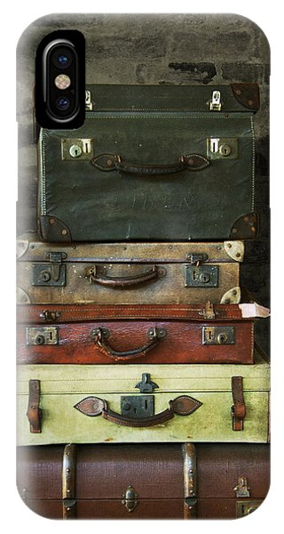 Vintage Suitcases IPhone Case