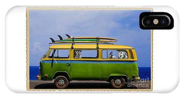 Vintage Surf Van IPhone Case
