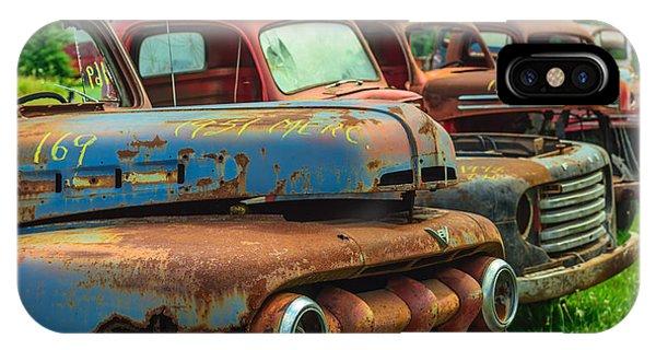 Vintage Trucks 2 IPhone Case