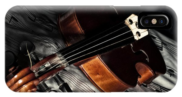 Vintage Violin IPhone Case