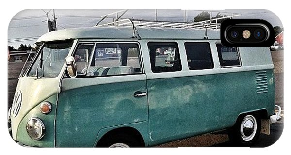 Vw Bus iPhone Case - Vintage Volkswagen Bus 2 by Couvegal Brennan