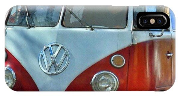 Vw Bus iPhone Case - Vintage Vw Bus. #vw #bus #bellingham by Kelly Hasenoehrl