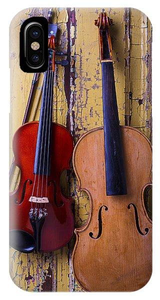 Viola And Violin IPhone Case
