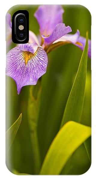 Violet Iris IPhone Case