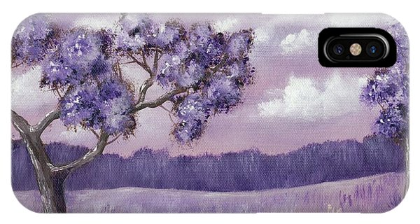 Violet Mood IPhone Case