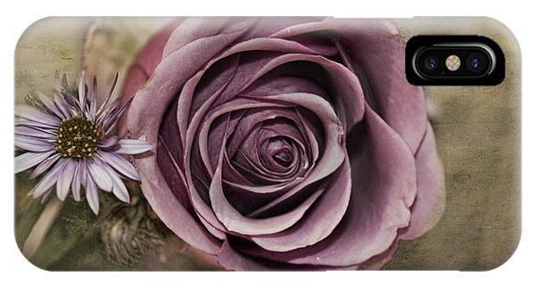 Violet Rose  IPhone Case